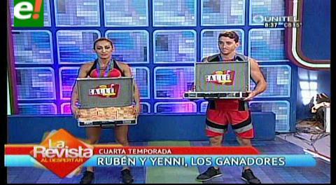 Yenni y Rubén ganadores de la cuarta temporada de Calle 7