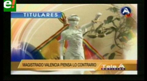 Titulares de TV: Retornaron al país los magistrados del Tribunal Constitucional y dicen que no vulneraron ninguna norma