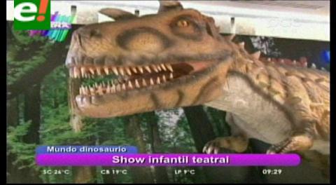 """El """"Mundo Dinosaurio"""" invadirá Santa Cruz"""