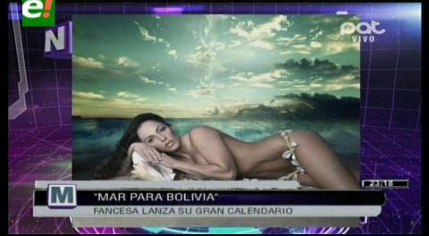 Jennifer Salinas muy sensual en calendario de reconocida empresa