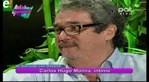 Carlos Hugo Molina al desnudo