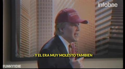 La increíble actuación de Johnny Depp como Donald Trump