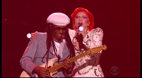 Así fue el homenaje a David Bowie de Lady Gaga en los Grammy