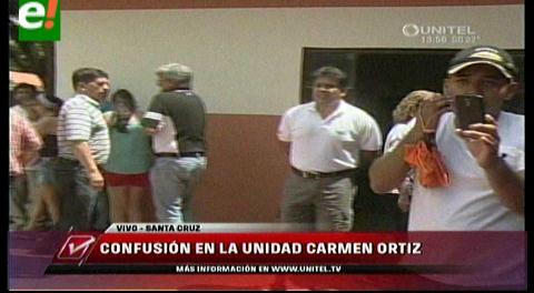Confusión sobre nueva votación en Colegio Carmen Ortiz