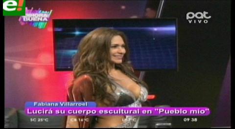 """Fabiana Villarroel se prepara para el show """"Pueblo mío"""""""
