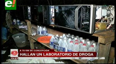 Encuentran megalaboratorio de cocaína cerca de Concepción