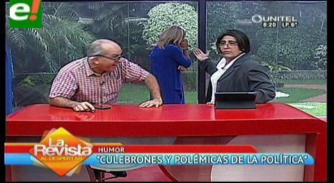 Culebrón político: Amelia Pando, Angélica Goza y Val-verde