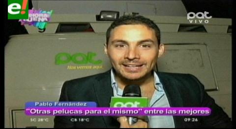 Pablo Fernández con 3 nominaciones a los premios Tiqui