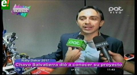 Chavo Salvatierra dio a conocer su proyecto deportivo para el 2016 y el Rally Dakar 2017