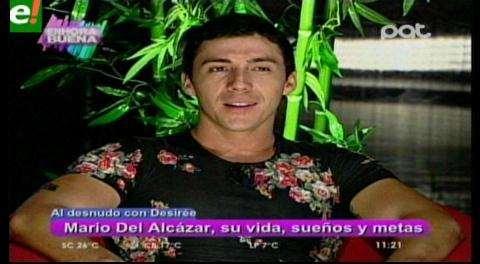 Mario Del Alcázar al desnudo