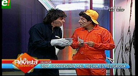 """Gastón y Gaspar unos """"mecánicos"""" de cuidado"""