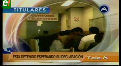 Titulares de TV: Se alista imputación contra el presidente de Cotel