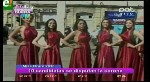 Elegirán a Miss Oruro 2016