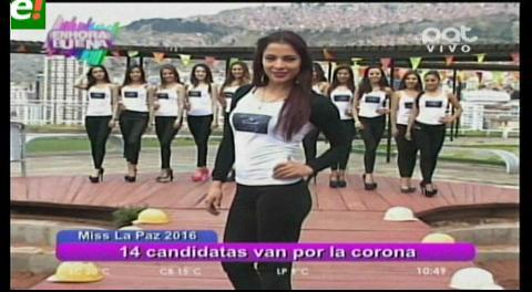 Conoce a las candidatas a Miss La Paz 2016