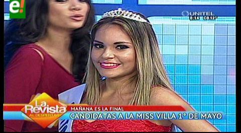 Se perfilan las favoritas del Miss Villa Primero de Mayo 2016