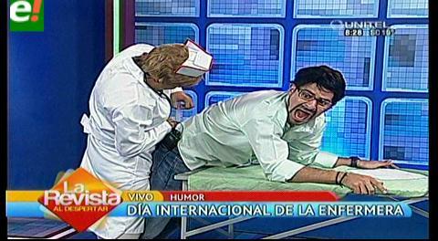 """Delfina una coqueta """"enfermera"""" que tienes que conocer"""