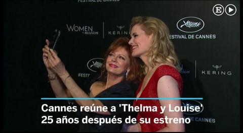 El reencuentro de las rebeldes Thelma y Louise
