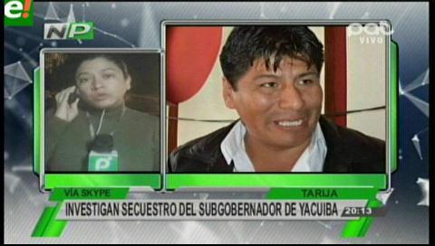 Denuncian secuestro del ex ejecutivo seccional de Yacuiba