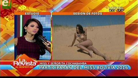 Conoce a las bellas cochabambinas que quieren conquistar el Miss Bolivia 2016