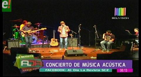 Animal de Ciudad brindó concierto acústico