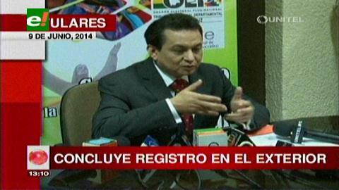 Titulares: TSE concluyó registro biométrico en el exterior