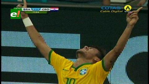Brasil inaugura el Mundial con una victoria frente a Croacia por 3-1