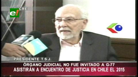 Órgano Judicial no fue invitado al G-77