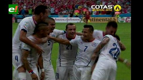 Fin de una era. Chile eliminó a España del Mundial tras ganarle 2-0