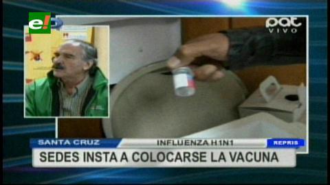 Santa Cruz: Amplían vacunación y piden activar filtros contra la gripe A