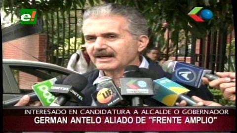 Senador Antelo está interesado en una candidatura departamental en Santa Cruz
