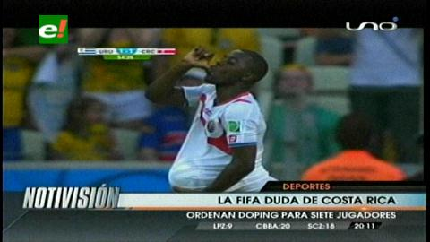 La FIFA duda de Costa Rica: ordena doping para siete ticos