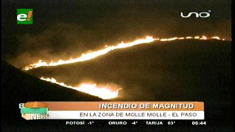 Cochabamba: Incendios y fogatas opacan San Juan