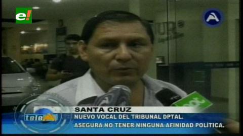 En Santa Cruz alertan que nuevo vocal debe dejar militancia masista