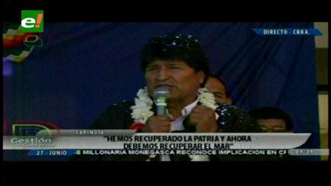 Morales a Chile: Que sumen cuánto 'nos han robado', tergiversan la verdad e incumplen el Tratado de 1904