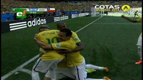 Mundial 2014: Brasil eliminó a Chile por penales y pasa a cuartos de final