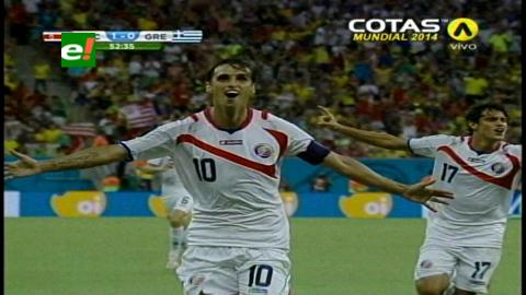 Hazaña: Costa Rica vence a por penales a Grecia y pasa a cuartos