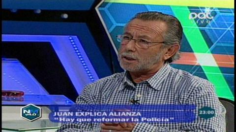 Juan Del Granado explica la alianza con Adriana Gil para las presidenciales