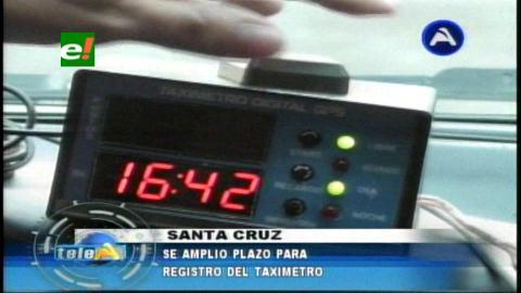 Concejo Municipal amplía 45 días para el uso del taxímetro