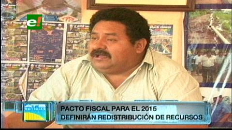 """Senador Ávalos: """"Pacto fiscal se debatirá el 2015″"""