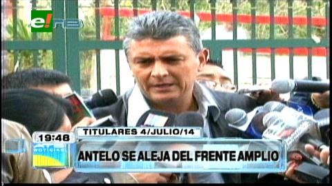 Titulares: Ernesto Suárez minimiza el alejamiento de Germán Antelo del Frente Amplio