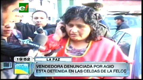 La Paz: Detienen a empleada de carnicería Bambi por agio
