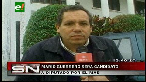 Mario Guerrero será candidato a diputado por el MAS en Santa Cruz