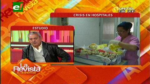 Gobernación: Urenda reconoce que faltan hospitales de segundo nivel en Santa Cruz