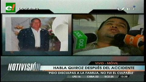 Santa Cruz: Concejal José Quiroz fue puesto en libertad bajo medidas sustitutivas