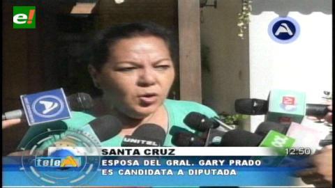 Santa Cruz: Esposa del General Gary Prado es candidata a diputada por el PDC