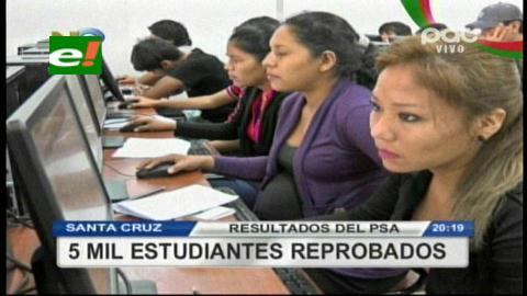 PSA: 1064 estudiantes lograron ingreso a la Uagrm