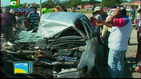 Santa Cruz: Nuevo accidente en la avenida G-77