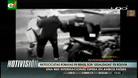 """Reportaje de la Tv brasilera: Vehículos robados en Brasil son """"legalizados"""" en Bolivia"""