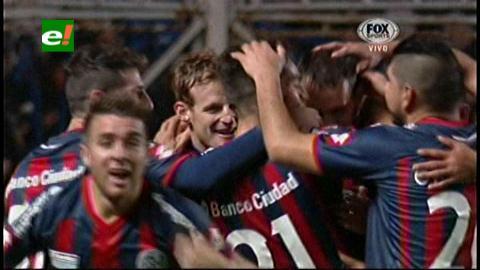 Copa Libertadores: San Lorenzo goleó 5 a 0 al Bolívar y está a un paso de la final