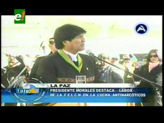 Evo Morales realzará el 27 aniversario de la FELCN